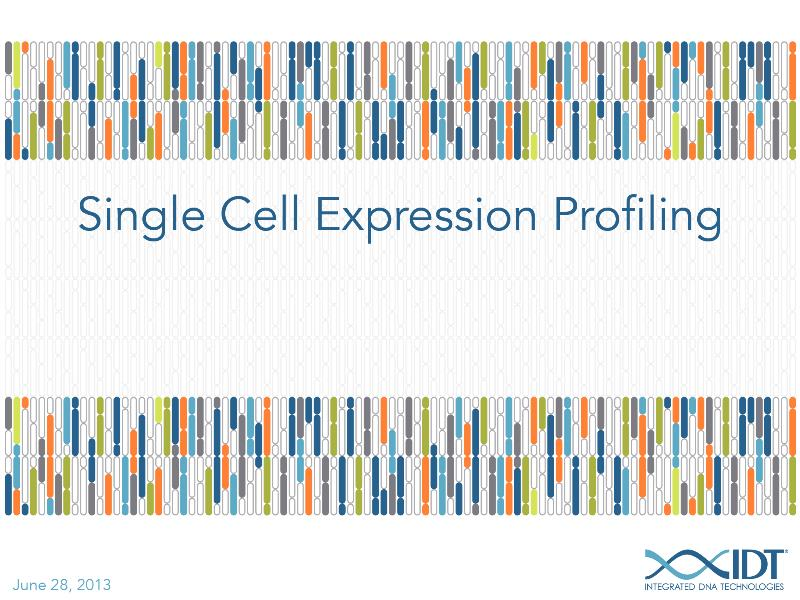 Single-cellexpressionprofiling